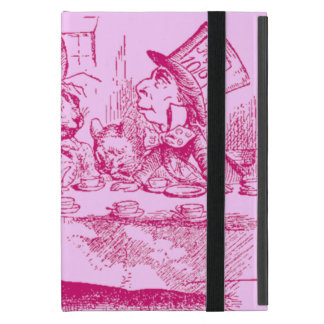 Vintage Alice in Wonderland Tea Party Cover For iPad Mini