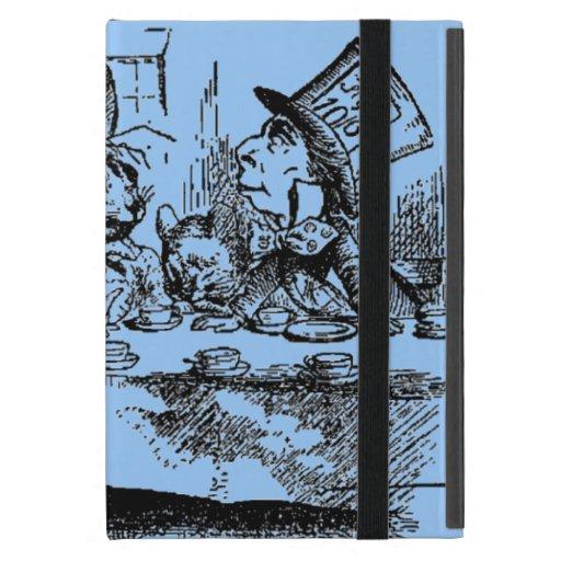 Vintage Alice in Wonderland Tea Party Cases For iPad Mini