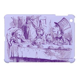 Vintage Alice in Wonderland Tea Party iPad Mini Covers