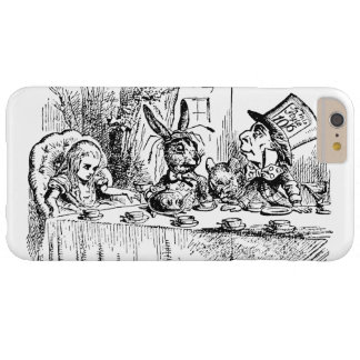 Vintage Alice in Wonderland, Tea Party Scene Barely There iPhone 6 Plus Case