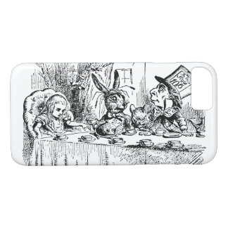 Vintage Alice in Wonderland, Tea Party Scene iPhone 8/7 Case