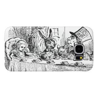 Vintage Alice in Wonderland, Tea Party Scene Samsung Galaxy S6 Case