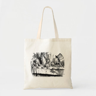Vintage Alice in Wonderland Tea Party Tote Bag