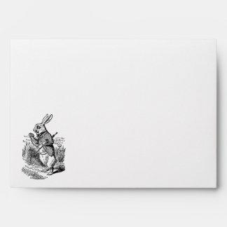 Vintage Alice in Wonderland the White Rabbit Watch Envelopes