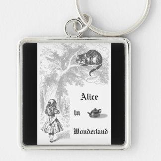 Vintage Alice in Wonderland Themed Keychain