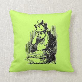 Vintage Alice in Wonderland Throw Pillows