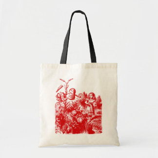 Vintage Alice in Wonderland Tote Bag