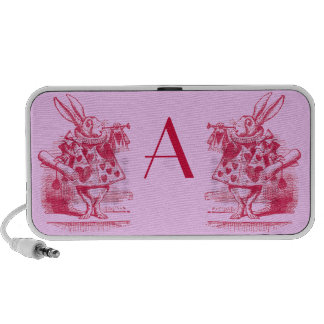 Vintage Alice in Wonderland Travelling Speaker