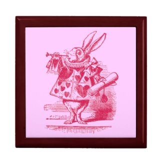 Vintage Alice in Wonderland Trinket Box
