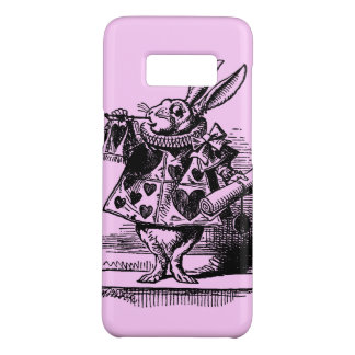 Vintage Alice in Wonderland White Rabbit as Herald Case-Mate Samsung Galaxy S8 Case