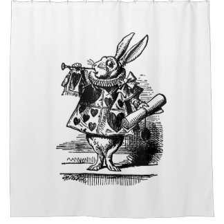 Curtains Ideas alice in wonderland curtains : Vintage Alice Wonderland Shower Curtains | Zazzle