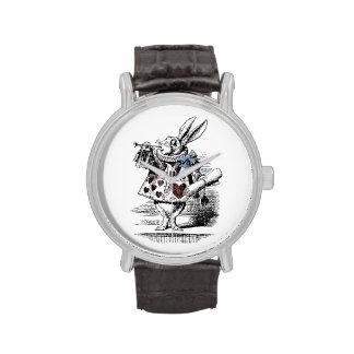 Vintage Alice in Wonderland White Rabbit Watch