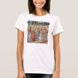 Vintage Alice in Wonderland with Red Queen T-Shirt
