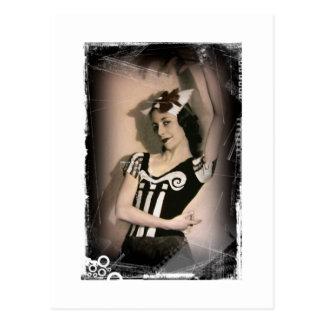 Vintage Alice inn Wonderland Ballet Postcard