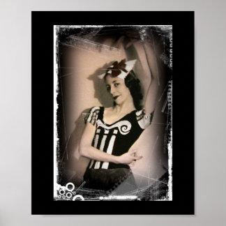 Vintage Alice inn Wonderland Ballet Poster