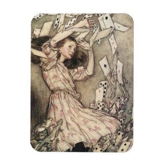 Vintage Alice's Adventures in Wonderland, Rackham Flexible Magnets