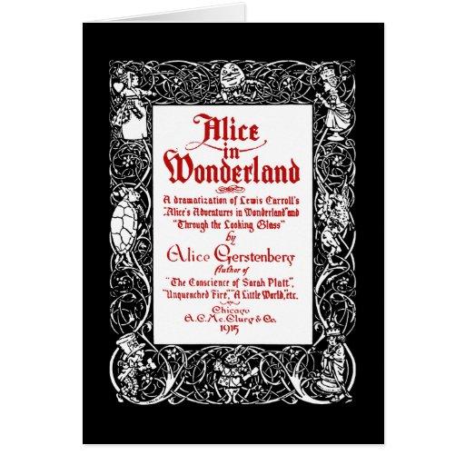 Vintage Alice Title Card