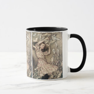 Vintage Alices Adventures in Wonderland by Rackham Mug