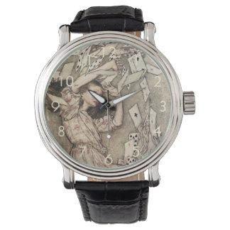 Vintage Alices Adventures in Wonderland by Rackham Wrist Watches