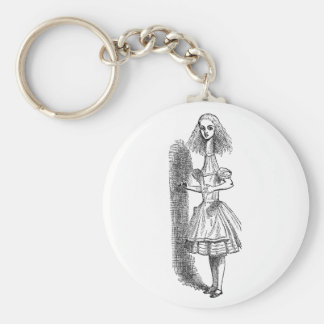 Vintage Alice's Adventures in Wonderland Key Chain