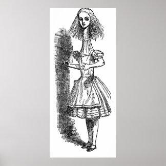 Vintage Alice's Adventures in Wonderland Poster