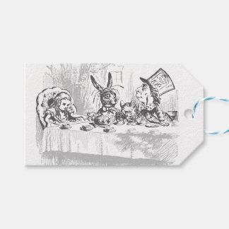 Vintage Alicia de la fiesta del té en etiquetas Etiquetas Para Regalos