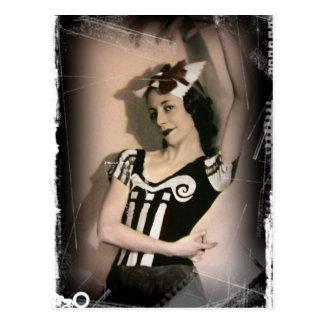 Vintage Alicia en ballet del país de las maravilla Postales