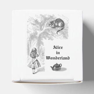 Vintage Alicia en cajas de los favores de fiesta Cajas Para Detalles De Boda