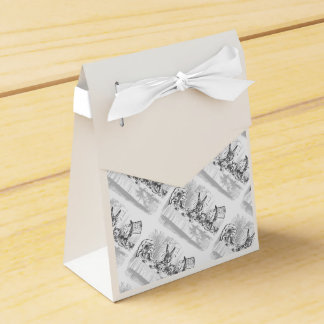 Vintage Alicia en cajas del favor de fiesta del té Cajas Para Regalos De Boda