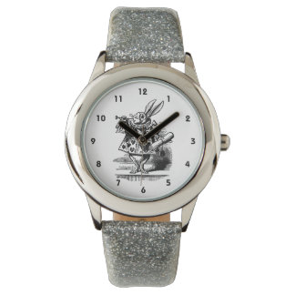 Vintage Alicia en el conejo blanco del país de las Reloj De Mano