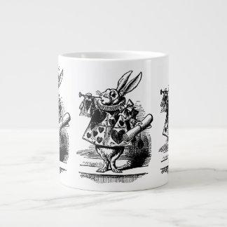 Vintage Alicia en el conejo blanco del país de las Taza Grande