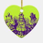 Vintage Alicia en el país de las maravillas Ornamento De Reyes Magos