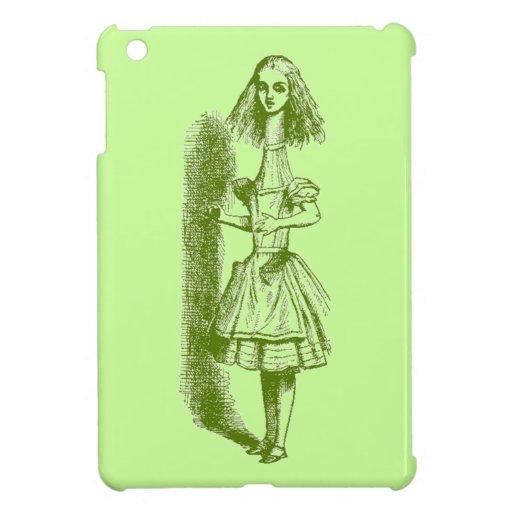 Vintage Alicia en el país de las maravillas iPad Mini Cárcasas