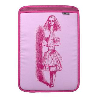 Vintage Alicia en el país de las maravillas Funda MacBook