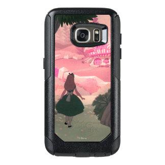 Vintage Alicia en el país de las maravillas Funda Otterbox Para Samsung Galaxy S7