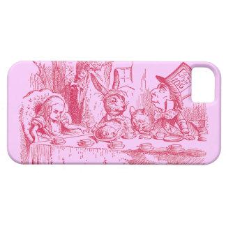 Vintage Alicia en el país de las maravillas Funda Para iPhone 5 Barely There