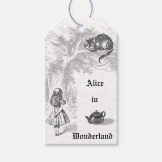 Vintage Alicia en etiquetas del regalo del país de Etiquetas Para Regalos