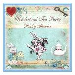 Vintage Alicia en fiesta del té de la fiesta de Comunicados Personalizados