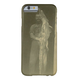 Vintage Alligator Photo c 1920 Barely There iPhone 6 Case