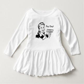 Vintage Allowance Money Infant Dress