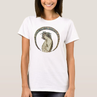 Vintage Alphonse Mucha Art T-Shirt