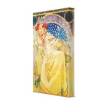 Vintage Alphonse Mucha Artwork Canvas Prints
