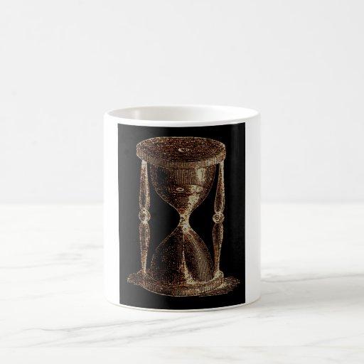 Vintage Altered Light Steampunk Alchemy Hourglass Coffee Mug