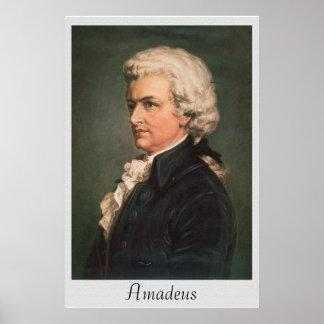 Vintage Amadeus Reprint 36 x 24 Poster