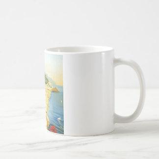 Vintage Amalfi Campania Italy Travel Poster Coffee Mug
