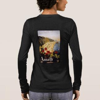 Vintage Amalfi Italy custom clothing Long Sleeve T-Shirt