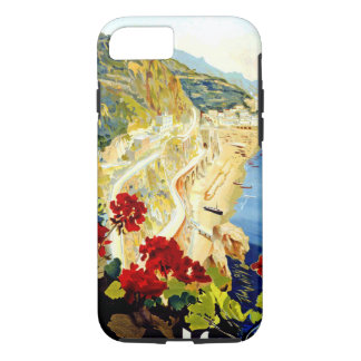 Vintage Amalfi Italy Europe Tough iPhone 7 Case