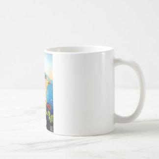 Vintage Amalfi Italy Europe Travel Coffee Mug