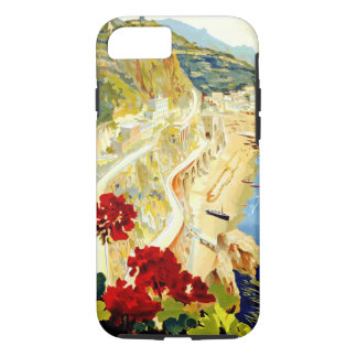 Vintage Amalfi Italy Europe Travel iPhone 7 Case