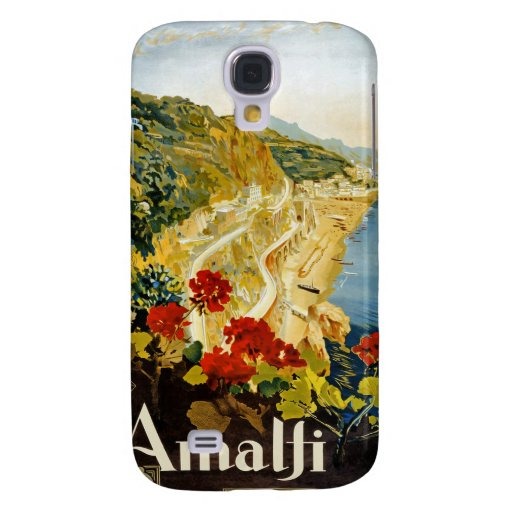 Vintage Amalti Italy Travel 3G  Samsung Galaxy S4 Covers
